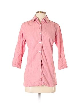 Mountain Lake 3/4 Sleeve Button-Down Shirt Size S