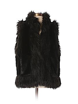 Ann Taylor LOFT Faux Fur Vest Size S
