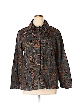 Chico's Denim Jacket Size XL (3)