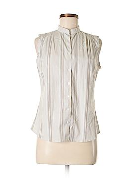 Dockers Sleeveless Button-Down Shirt Size M