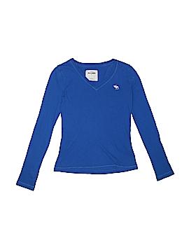 Abercrombie Long Sleeve T-Shirt Size S (Kids)