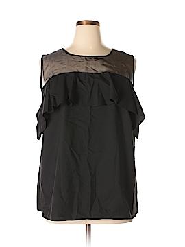 Worthington Sleeveless Blouse Size 1X (Plus)