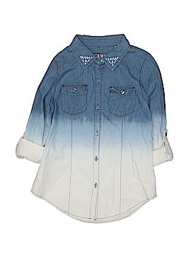 Guess Long Sleeve Button-Down Shirt Size 16