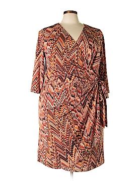 Shelby & Palmer Casual Dress Size 3X (Plus)