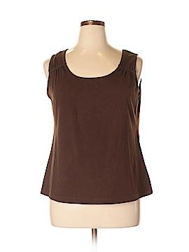 Choices Sleeveless Top Size 1X (Plus)