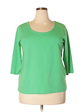 Jessica London 3/4 Sleeve T-Shirt Size 18/20 (Plus)