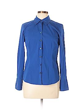 Ann Taylor LOFT Outlet Long Sleeve Button-Down Shirt Size 12