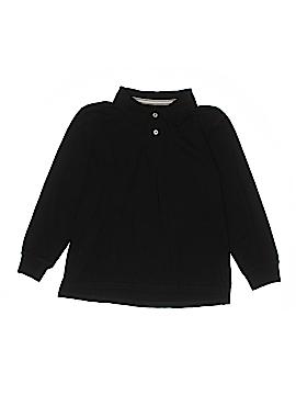 Faded Glory Long Sleeve Polo Size 10