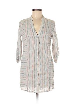 Love Riche 3/4 Sleeve Button-Down Shirt Size S