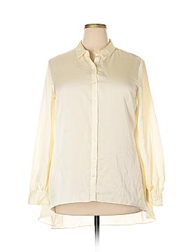 Nicole Miller Long Sleeve Button-Down Shirt Size XL