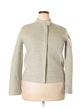 Anne Klein Wool Cardigan Size 16