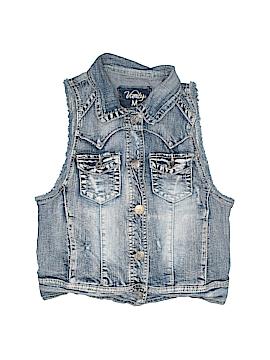 Vanity Denim Vest Size M (Kids)