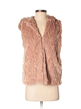 Express Faux Fur Vest Size XS - Sm