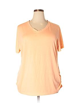 Danskin Short Sleeve T-Shirt Size 3X (Plus)