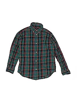 Ralph Lauren Baby Long Sleeve Button-Down Shirt Size 7