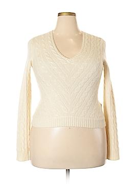 Ralph Lauren Black Label Cashmere Pullover Sweater Size XL