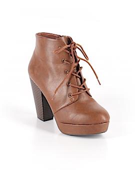 Brash Ankle Boots Size 6 1/2