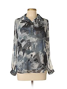 Marla Wynne Long Sleeve Blouse Size S