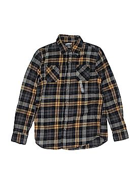 Arizona Jean Company Long Sleeve Button-Down Shirt Size L (Kids)