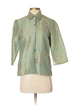 Sigrid Olsen 3/4 Sleeve Blouse Size 2 (Petite)