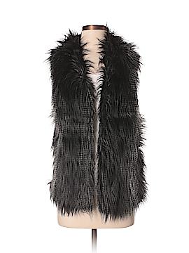 Chico's Faux Fur Vest Size Sm - Med