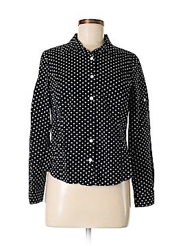 Jones New York Sport Long Sleeve Button-Down Shirt Size M (Petite)