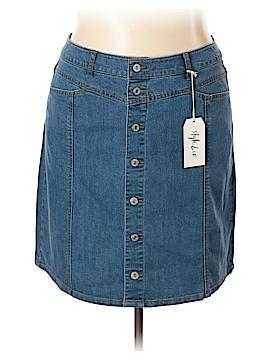 Style&Co Denim Skirt Size 16