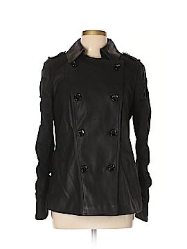 INC International Concepts Faux Leather Jacket Size L