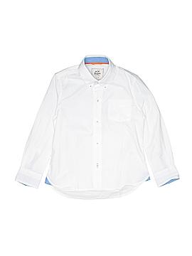 Mini Boden Long Sleeve Button-Down Shirt Size 4 - 5