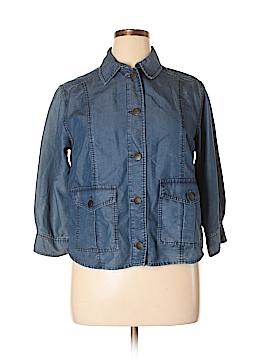 Peter Nygard 3/4 Sleeve Button-Down Shirt Size 14