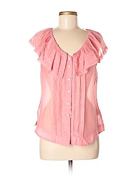 Moulinette Soeurs Short Sleeve Blouse Size 6