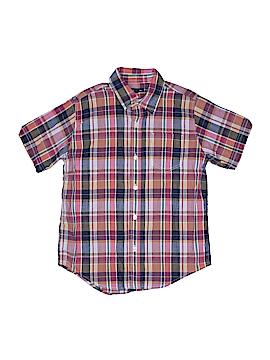Gap Kids Outlet Short Sleeve Button-Down Shirt Size M (Kids)