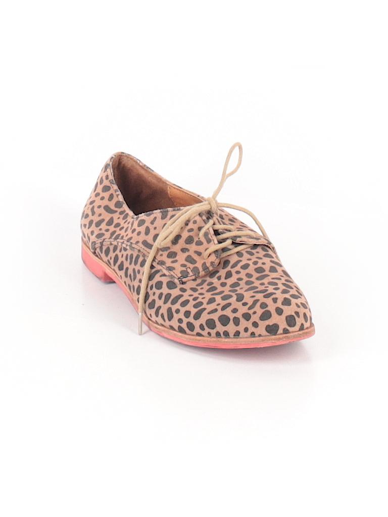 c24ccbf9305c DV by Dolce Vita Animal Print Brown Flats Size 8 1/2 - 68% off | thredUP