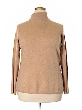 Charter Club Cashmere Cardigan Size 2X (Plus)