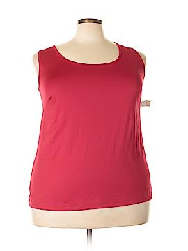 Catherines Sleeveless Top Size 1X (Plus)