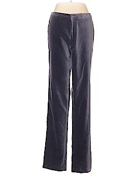 Linda Allard Ellen Tracy Velour Pants Size 4