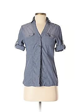 Ashley Short Sleeve Button-Down Shirt Size S