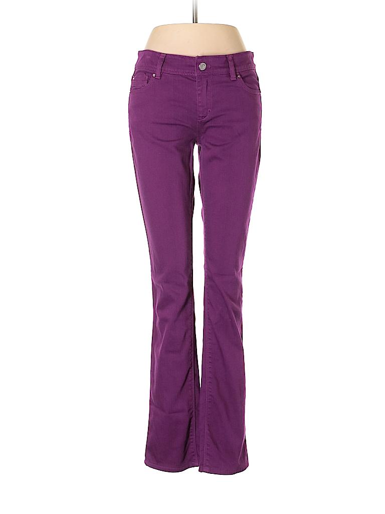 e4218e8bdb White House Black Market Solid Dark Purple Jeans Size 2 - 82% off ...