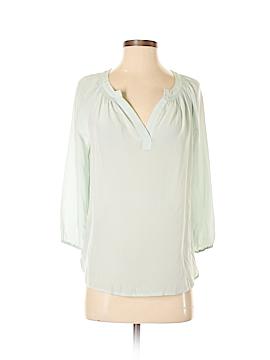Max Studio 3/4 Sleeve Silk Top Size XS
