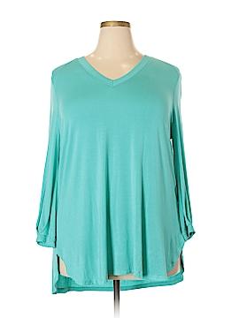 Melissa McCarthy Seven7 Long Sleeve Top Size 1X (Plus)