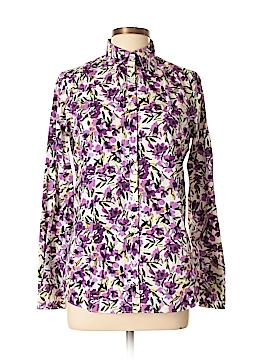 Lands' End Long Sleeve Button-Down Shirt Size 8 (Tall)