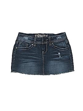 Hydraulic Denim Skirt Size 1 - 2