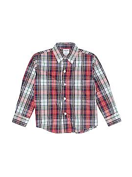 IZOD Long Sleeve Button-Down Shirt Size 3T - 3