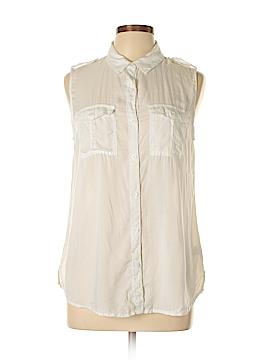 BP. Sleeveless Button-Down Shirt Size M