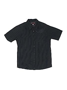 Hawk Short Sleeve Button-Down Shirt Size 8