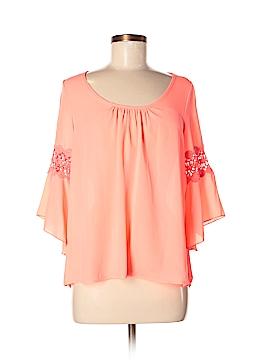 Audrey Ann 3/4 Sleeve Blouse Size M