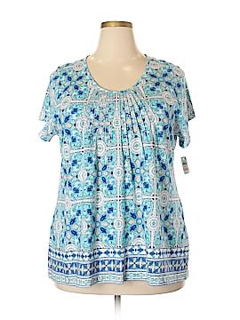 Charter Club Short Sleeve T-Shirt Size 1X (Plus)