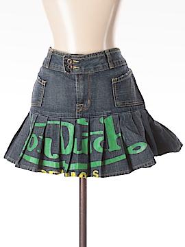 Von Dutch Denim Skirt Size M