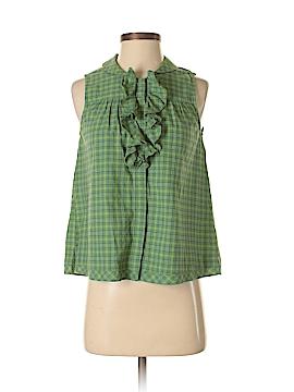 Lilis Closet Sleeveless Button-Down Shirt Size XS