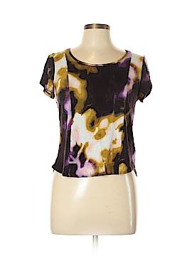 Simply Vera Vera Wang Short Sleeve Top Size L (Petite)